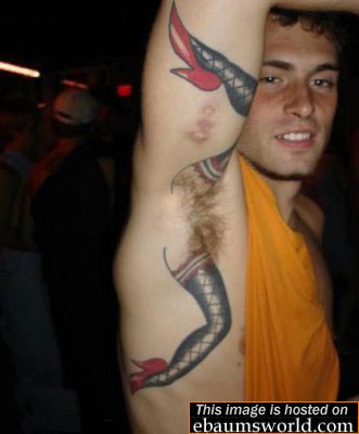 Piercings and Bizarre Tattoos. What were these people thinking!
