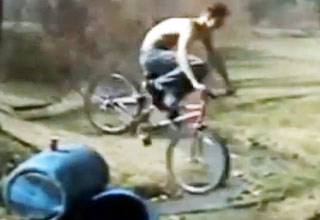 face [Video] Painful Looking Bike Faceplant Funny Picture