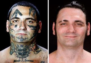 tattoo [Gallery] Skinhead to Full Head Funny Picture