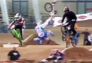 bmx [Video] Scary BMX Crash Funny Picture
