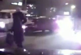 lady [Video] Woman Causes Crash Funny Picture