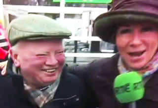 interview [Video] Horse Trainer Gets Excited on LIVE TV! Funny Picture