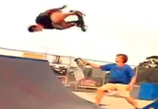 skate [Video] Hall of Meat Funny Picture