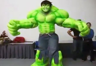 Incredible Incredible Hulk Costume