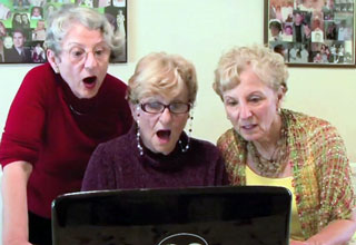 kim [Video] Grandmas Watch Kardashian Sex Tape Funny Picture