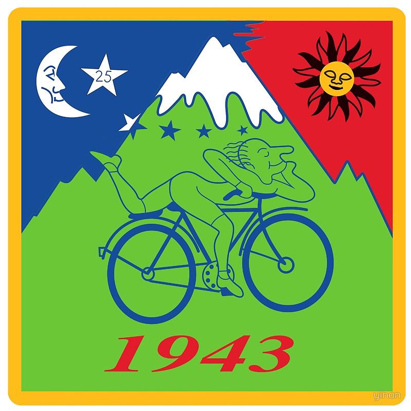 Albert Hoffman's Bike Ride in 1943