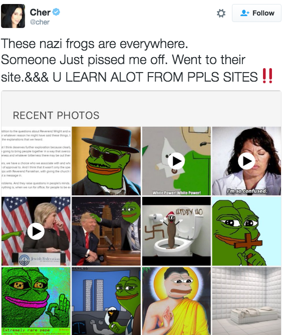The Adl Just Labeled Pepe The Frog As A Hate Symbol Wow Blog