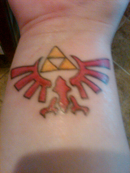 MY triforce tattoo