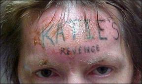 Tatuajes horribles y bizarros