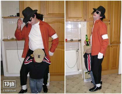 Michael jackson halloween mask