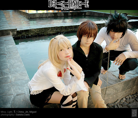 Cosplays Death Note  439919