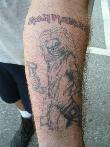 Killers Tattoo. Enlarge. Killers Tattoo
