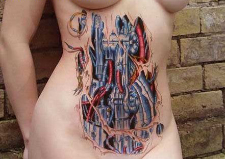 Machine Tattoo. Enlarge. Machine Tattoo