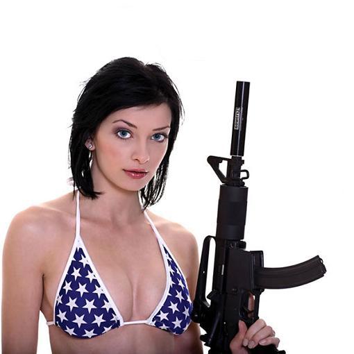girls with guns calendar. (NSFW) Girls and Guns