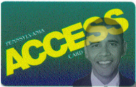 Food Stamp Card - Obama Money