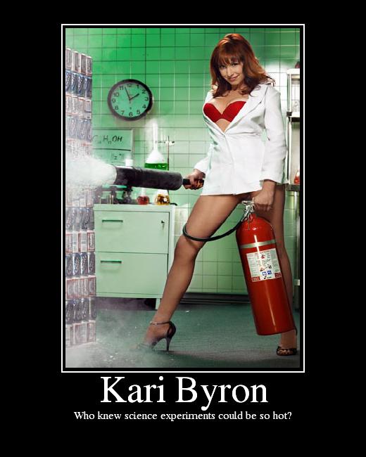 kari byron spread