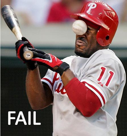 baseball fail funny