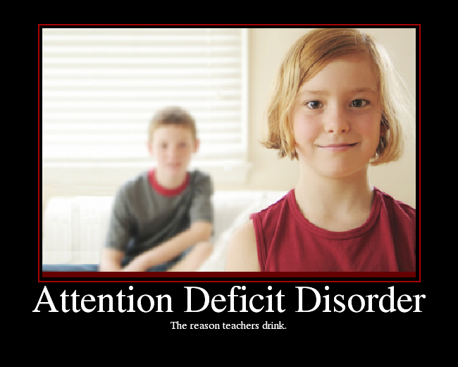 Thesis statement for attention deficit disorder
