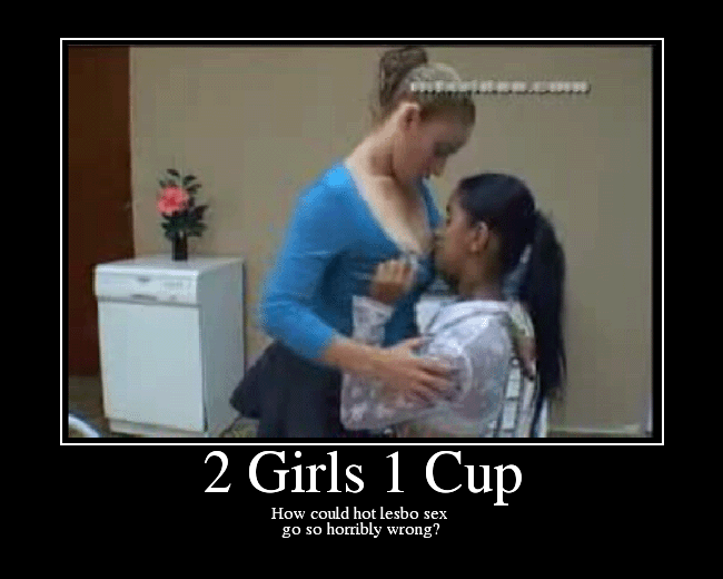 2 girls pee 1 cup
