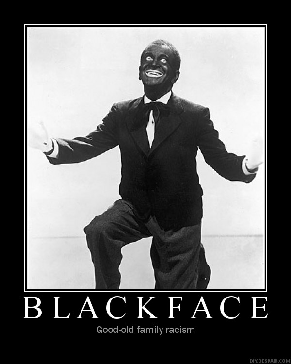 Blackface: good old family racism!