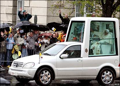 The PopeMobile