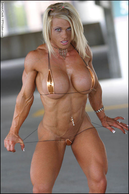 Female Body Building Nude 96