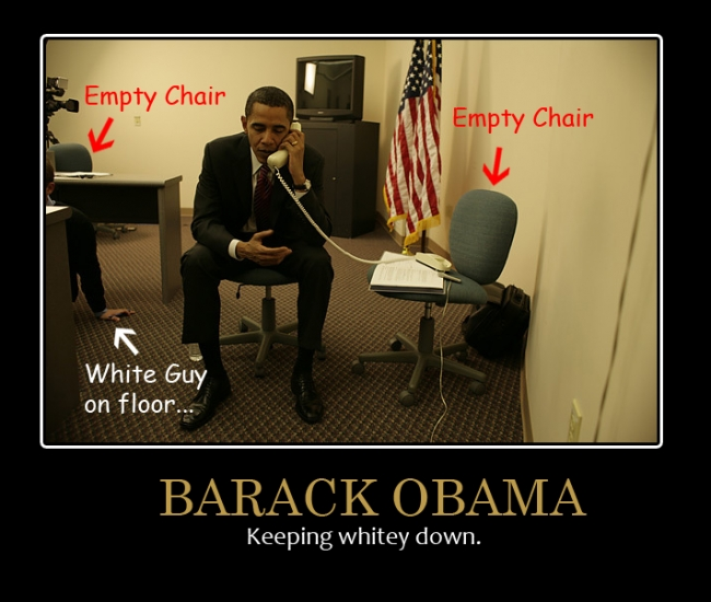 Funny Barack Obama Demotivational Poster