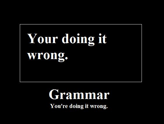 Você está fazendo isso errado