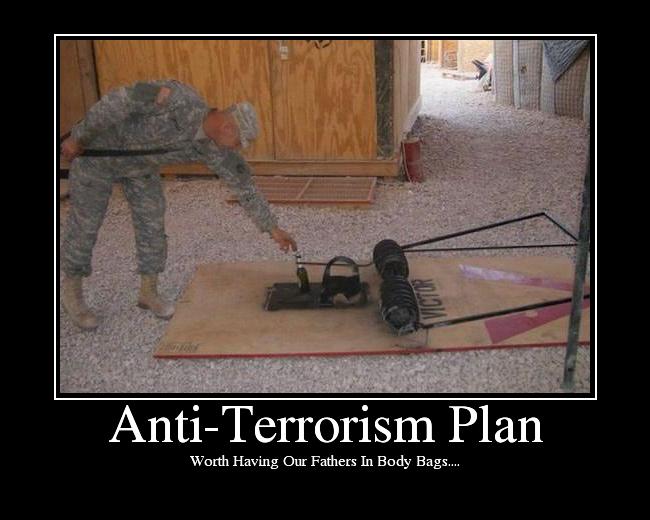 Terrorist rat trap