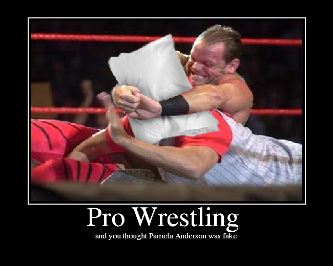 professional wrestling hype