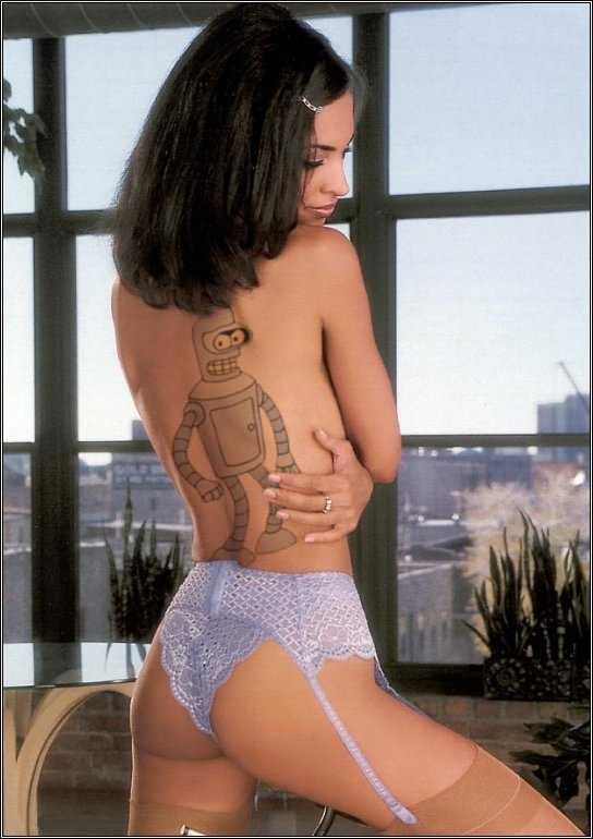 Presentaciones - Página 2 Bender-tatoo