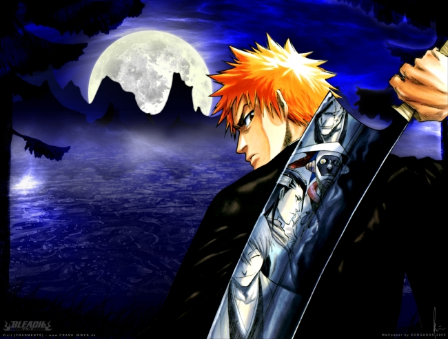 bleach background. Views: 5659