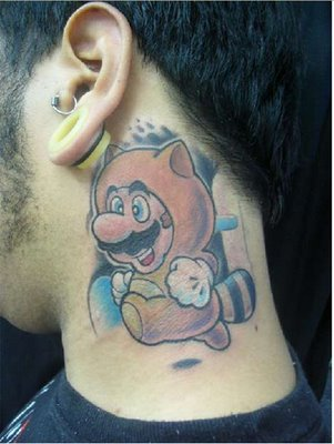 Video Game Character Tattoos. Here are some pretty cool tattoos on the