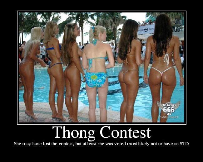 Thong Bikini Contests 38