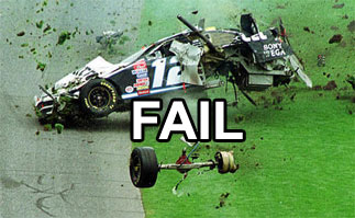 NASCAR FAIL
