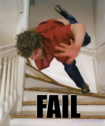 stairsfail