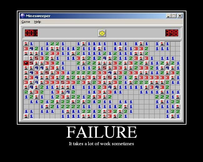 Epic fails! FAILURE