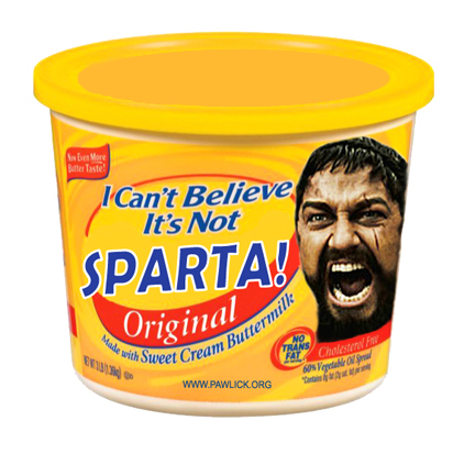 This is... Not-SPARTA