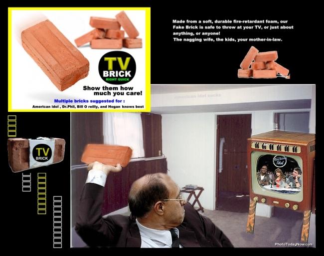 tv brick