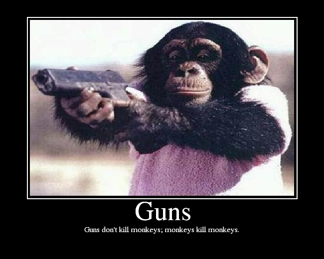 pictures of monkeys with guns. ePlaya :: View topic - MONKEYS