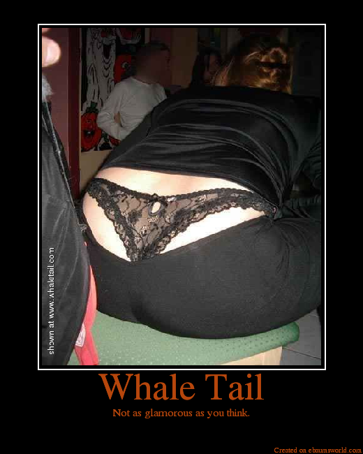 girls whaletail