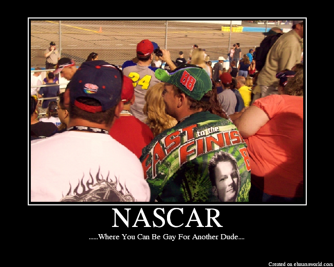 from Cash gay nascar