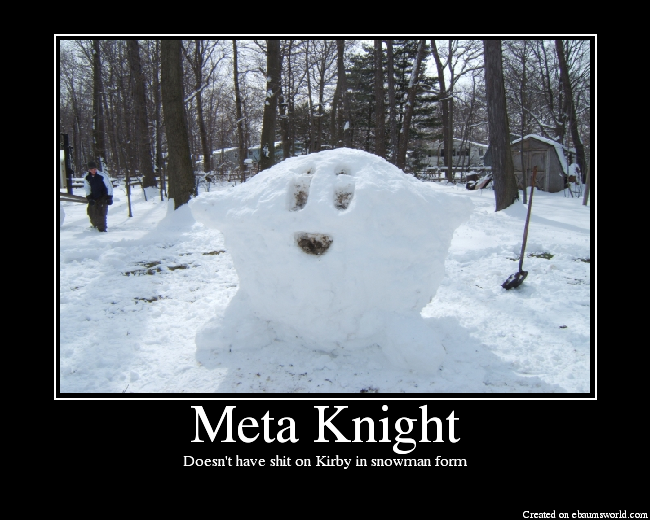 PICTURES TOPIC (Funny picture and photo album topics merged) MetaKnight