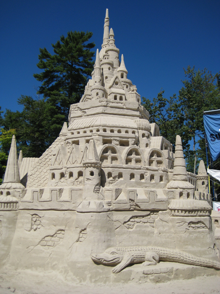 Tallest20Sandcastle completed