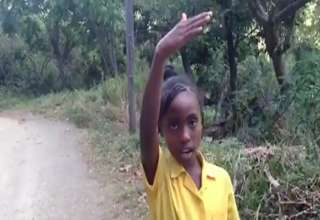 Jamaican Girl Confusing Directions (VIDEO)